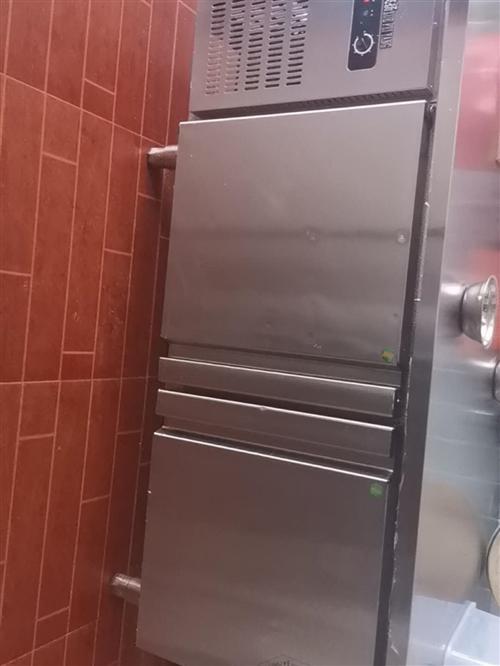 一米二双温冷藏冷冻冰柜,低价出,地址楂林工业园,限自提