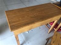 辅导班桌椅,每套双人桌配2个凳子,共25套