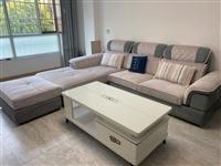 品牌沙发、电视柜、茶几全套,九成新,低价转让,如有意愿可联系13993707660当面验看,价格可面...
