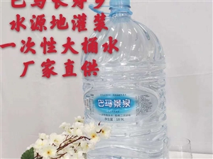 广西巴马长寿乡矿泉水山泉水桶装水批发零售