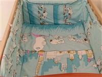 九成新婴儿床,可改书桌,150转让,电话微信同步15084568481