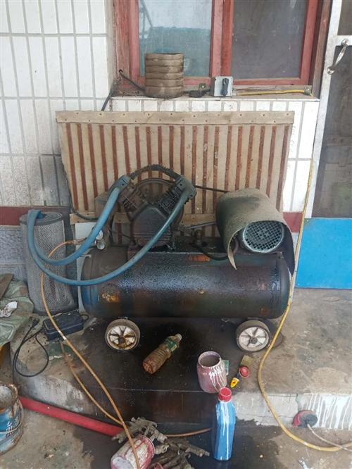 出售三向电双缸气泵,新电机,缺点是过热喷油。看上的联系