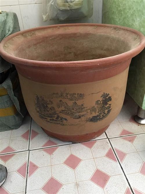 有一大号陶瓷花盆出售,直径48CM,高度35CM。仅支持同城自提,需要的联系。