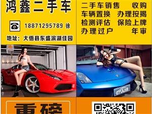 大悟鸿鑫二手车出售各种精品二手小车