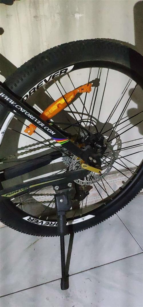 99新,30速永久自行车,久放末用故出售,只是积灰多需清洗一下。前后线控碟杀,合金车架,成人大圈轮,...