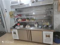 麻辣烫  冒菜展示柜 上面是保鲜 下面是速冻 一柜多用