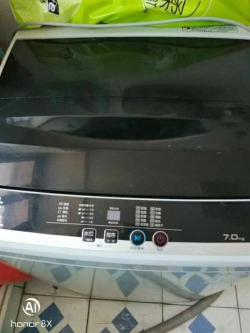 二手洗衣机 ,八成新。350元  非诚勿扰