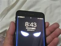 蘋果7p 128G 國行機器 電池容量百分之百 , 屏幕有些橫紋不影響使用。13419777704