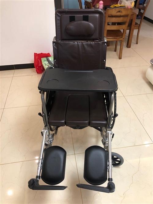 鱼跃手动轮椅,型号H059B,包装尺寸920*365*950mm,手握-地面950/1160mm,背...