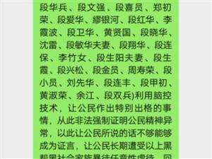 湖口县凰村镇花园村六组段家岭事件
