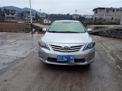 丰田卡罗拉2012款1.6