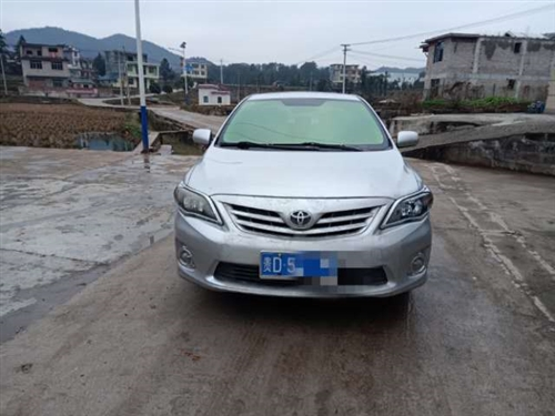 丰田卡罗拉2012款1.6L