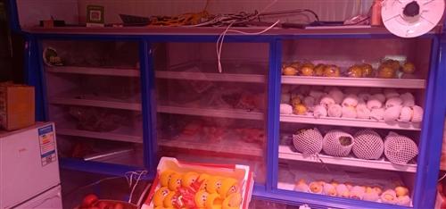 9成新,未用一月生鲜展示柜,上冷藏下冷冻可随时调节温度,智能控温,5000买的现在3000卖。