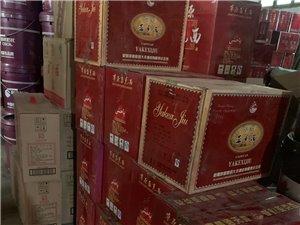 管仲老街2期岁月老酒行出售各种陈年老酒